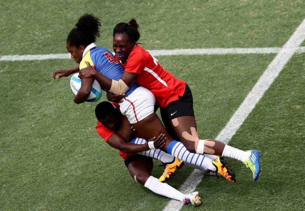 Colombia Kenya Rio2016 Rugby a 7